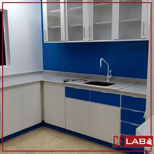 Armario de parede para laboratorio