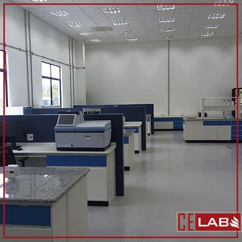Bancada para laboratório