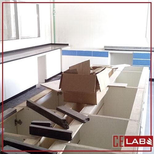 Empresa de reforma de laboratorio