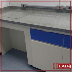 Mesa antivibratória para laboratório